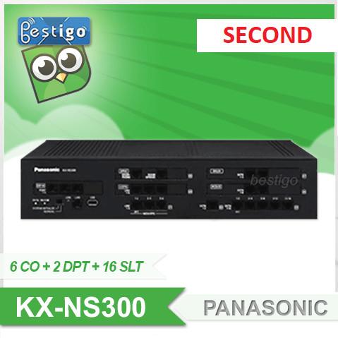 Foto Produk Pabx Panasonic KX-NS300 SECOND + DSP-S + NSF990 + 2 Unit NSM102 dari BESTIGO PABX TELEPON