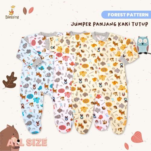 Foto Produk Blessing Babywear-jumper panjang kaki tutup-Size: ALL-size-f-adw dari BLESSING Babywear