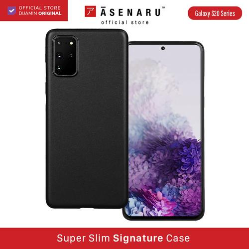 Foto Produk ASENARU Galaxy S20/ S20 Plus/S20 Ultra Casing - Super Slim Case - Hitam, S20 dari Asenaru Official Store