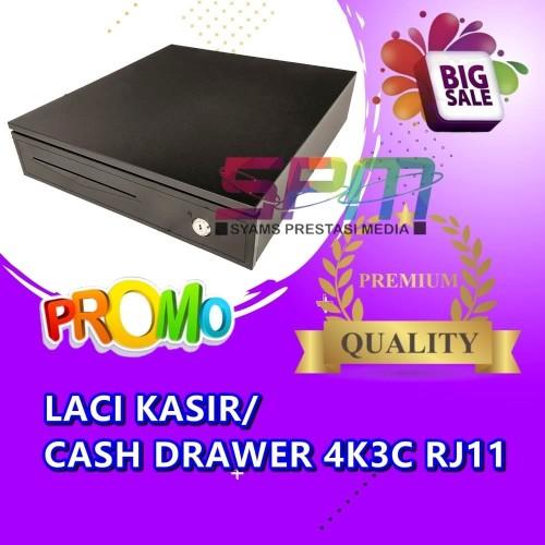 Foto Produk EPPOS Cash Drawer 37 X 33CM 4K3C RJ11 / Laci Uang Kasir Toko dari syams prestasi media