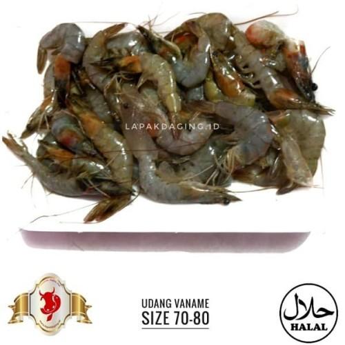 Foto Produk Udang Vaname Size 70-80 @500gram dari BERKAH JAYA MEAT
