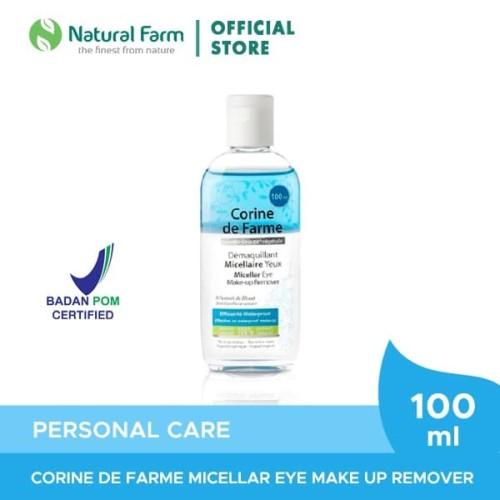 Foto Produk Corine de Farme Micellar Eye Make Remover (100ml) dari Natural Farm