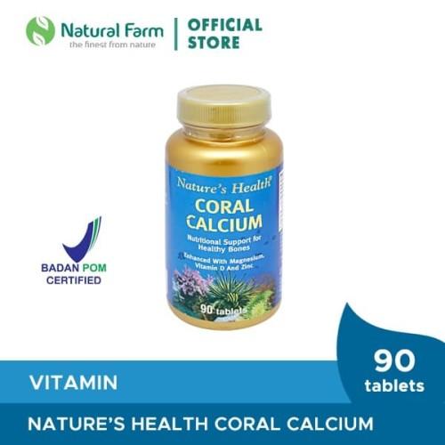 Foto Produk Nature'S Health Coral Calcium 90 Tabs dari Natural Farm