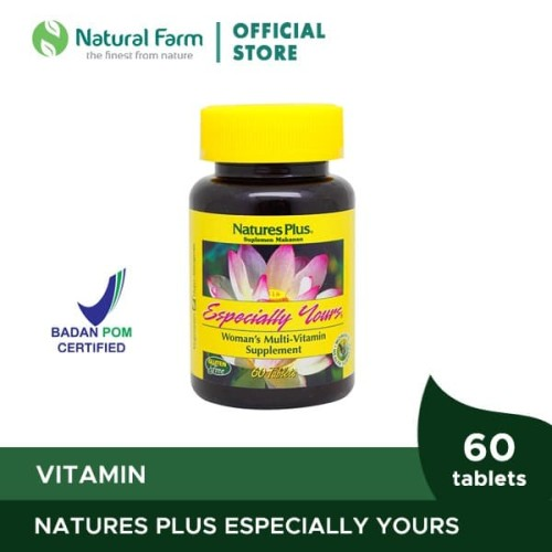 Foto Produk Natures Plus Especially Yours (60) dari Natural Farm