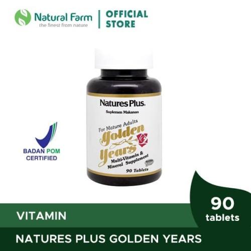 Foto Produk Natures Plus Golden Years (90) dari Natural Farm