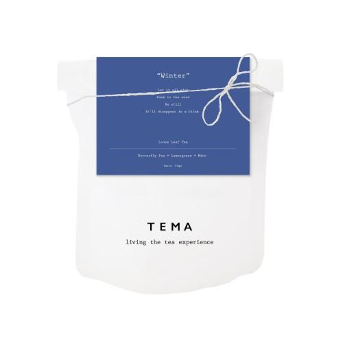 Foto Produk TEMA Tea Large Pouch - Winter / Butterfly Pea Mint Tea - 50gr dari TEMA Tea