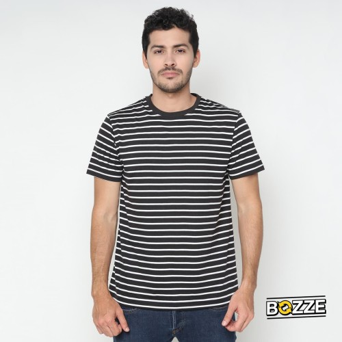 Foto Produk Bozze Stanley Tee Black Unisex - M dari Bozze Store