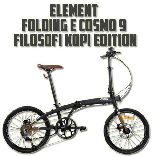 Foto Produk Element Folding E cosmo 10 SP Filosofi Kopi Troy Pikes Gust Fnhon dari JUALGADGETS