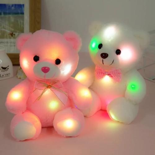 Foto Produk Boneka Beruang Anak Lampu LED / Kado Mainan Anak perempuan Boneka dari OyaOna Shop