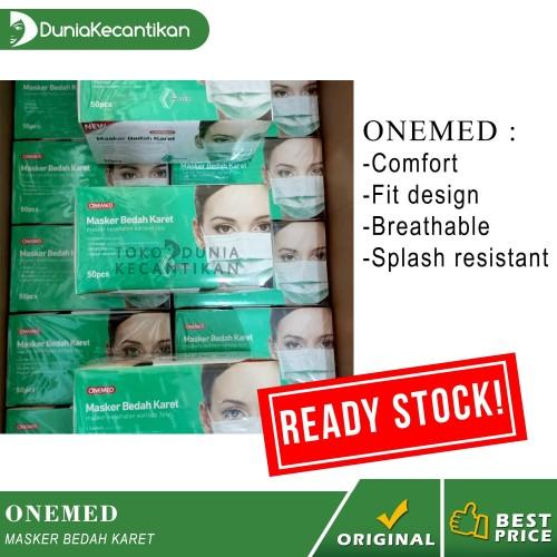 Foto Produk Masker Medis Earloop 3ply Onemed | Masker Bedah Karet Segel Original dari DuniaKecantikan