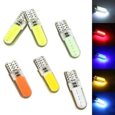 Foto Produk LAMPU LED T10 JELLY / LAMPU LED SENJA / SPEDOMETER / KOTA (1 PCS) - Merah dari DNY Official Store
