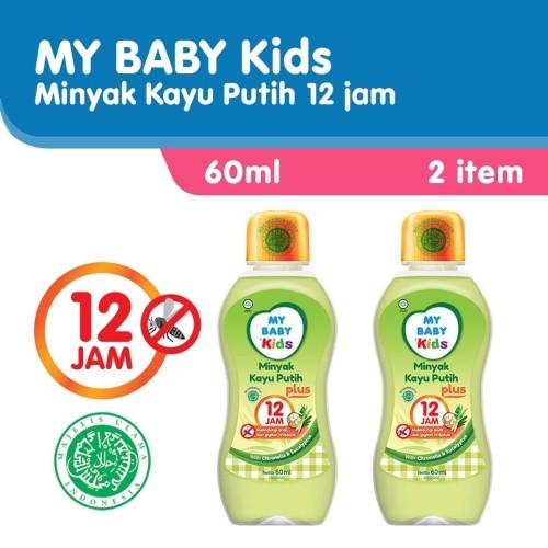 Foto Produk My Baby Kids Minyak Kayu Putih Plus 12 Jam [60 ml/2 pcs] dari Tempo Store Official