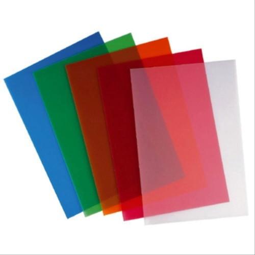 Foto Produk Cover Plastik Mika Jilid A4 Bening Warna Transparan Transparant Sampul - Kuning dari CENTRO TRADING