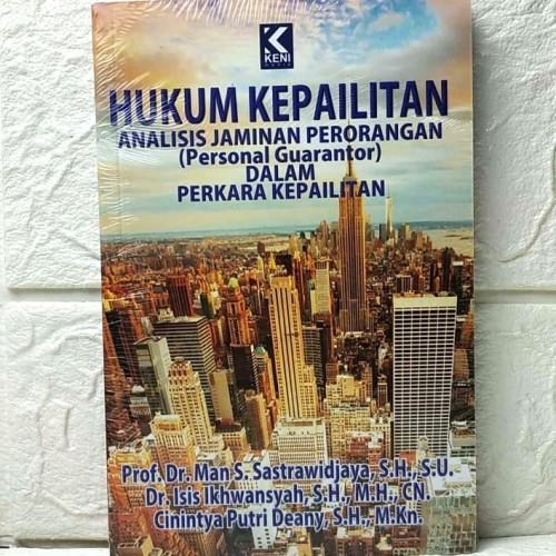 Foto Produk Buku HUKUM KEPAILITAN ANALISIS JAMINAN PERORANGAN Personal Guarantor dari BALEBAT SHOP