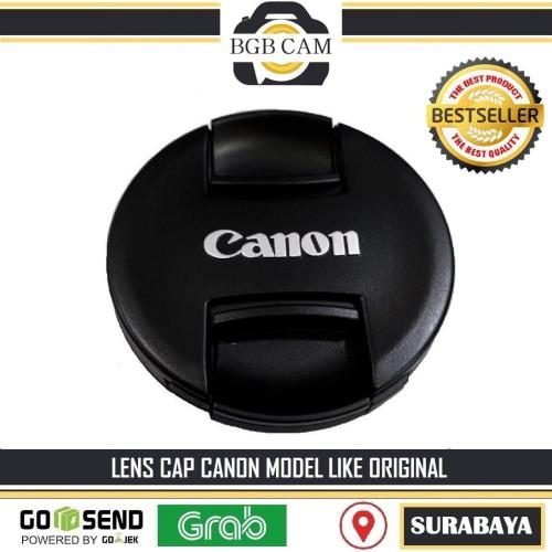 Foto Produk Lens cap Kamera Canon diameter 67 mm / Tutup Lensa 67mm with LOGO dari BGB CAMERA ACC