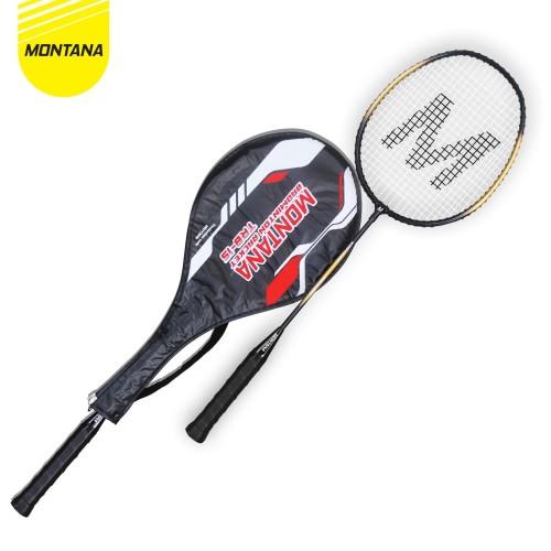 Foto Produk Badminton Racket / Raket Bulu Tangkis Montana TRB 1 S - Merah dari MONTANA ID