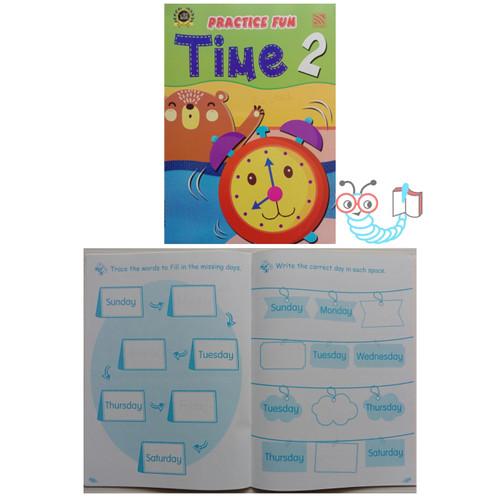 Foto Produk Practice Fun Time - Fun Time 2 dari Little Bookworm