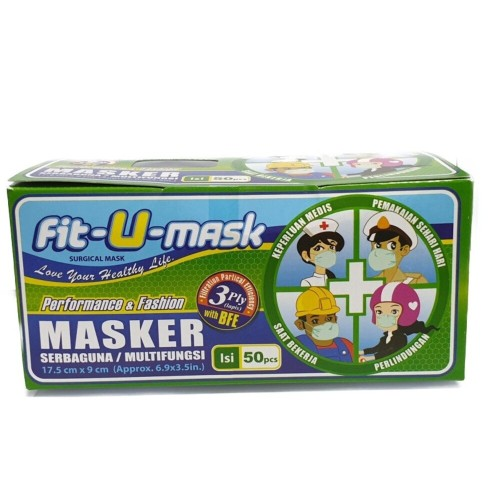 Foto Produk Fit-U Mask 50s in Box dari Watsons Indonesia