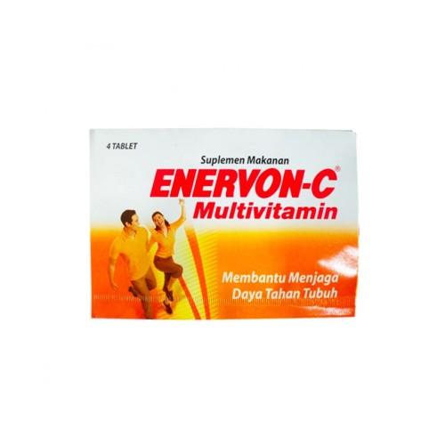 Foto Produk Enervon C Tablet 4's dari Watsons Indonesia