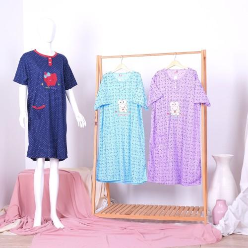 Foto Produk Daster Baju tidur Jumbo XXL Bahan Kaos dari StarSungallery
