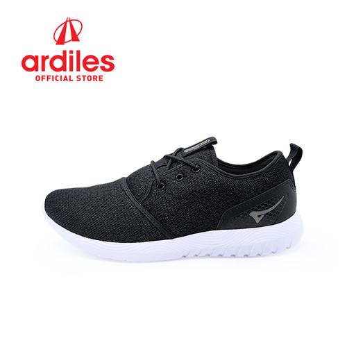 Foto Produk Ardiles Men Mondeo Sepatu Runnning - Hitam - Hitam, 39 dari Ardiles Official Store