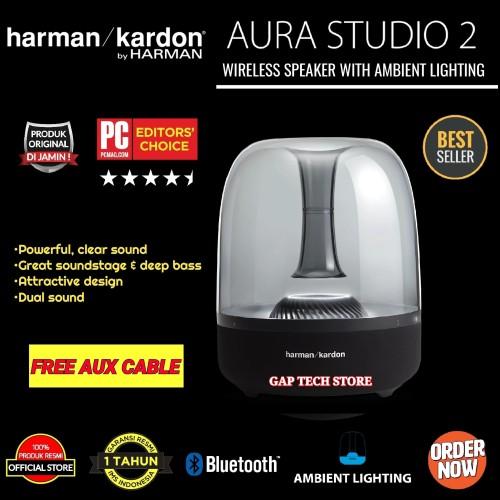 Foto Produk Harman Kardon AURA STUDIO 2 Bluetooth Speakers with Ambient lighting dari GAP TECH STORE