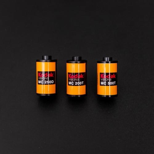 Foto Produk Bundling Package, Kodak Vision3 250D 200T 500T dari Memory Collector