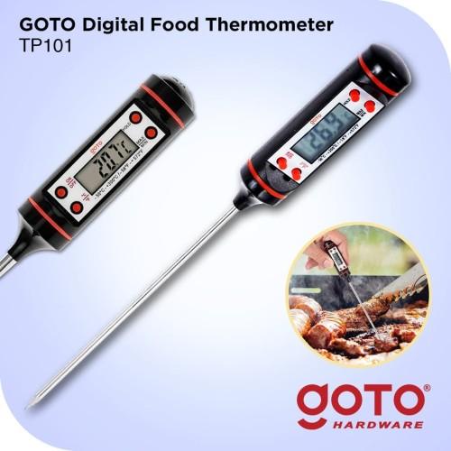 Foto Produk Goto Pengukur Suhu Makanan TP 101 Termometer Digital Food dari GOTO Hardware