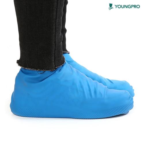 Foto Produk Cover Shoes Rain - Pelindung Sepatu Dari Air - Cover Shoes Size M - Biru dari YOUNGPRO INDONESIA