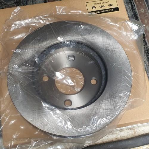 Foto Produk Livina L10 L11 Rotor disc Brake Depan Piringan Rem Cakram Nissan OEM dari Sparepart Nissan Genuine