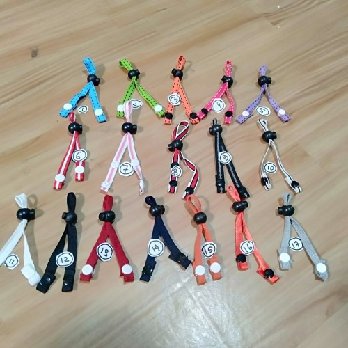 Foto Produk NR27 Tali Konektor Pengait Sambungan Masker ANAK ANAK Warna Warna dari Toko Neila