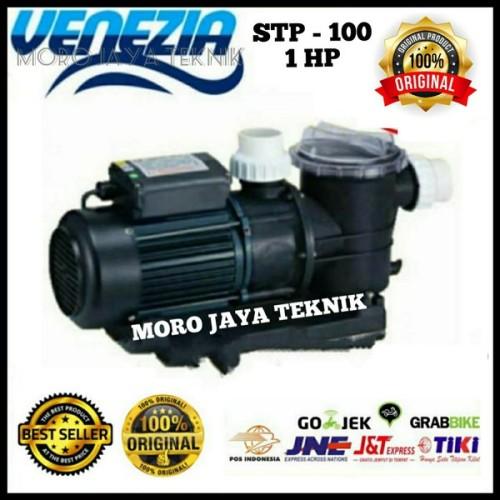Foto Produk Pompa Kolam Renang 1Hp Venezia STP.100 Swimming Pool 750Watt spar dari deristya onlinee