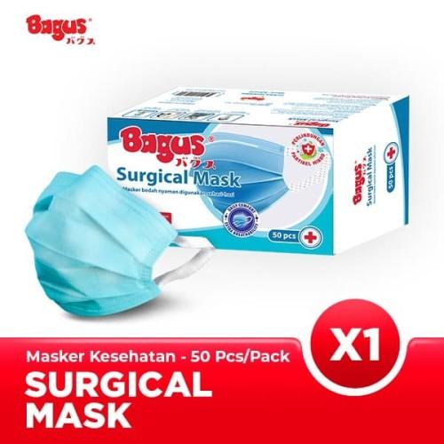 Foto Produk Bagus Masker Sehari-hari - 1 Box Isi 50 pcs dari Bagus Official Store