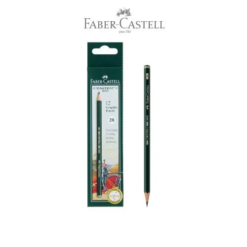 Foto Produk Faber-Castell Pensil Ujian - 2B Castell 9000 dari Faber-Castell