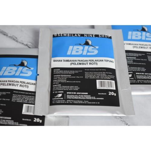 Foto Produk IBIS BLUE Pelembut Roti 20 Gram SAF Bahan Roti dari Sembilan Nine Shop