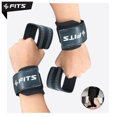 Foto Produk Wrist Wrap Strap SFIDN FITS Support Weight Lifting Gym Fitness - Hitam dari SFIDN FITS