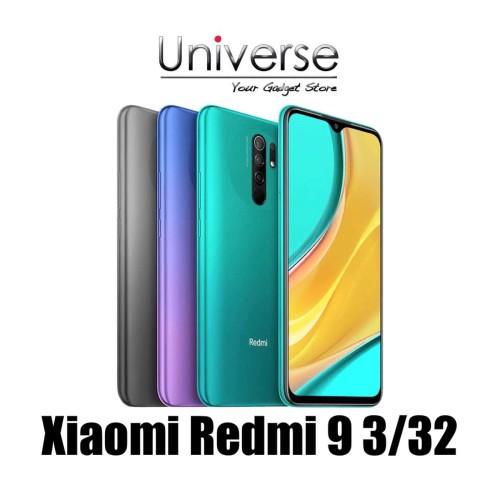 Foto Produk Xiaomi Redmi 9 3/32 GB - Garansi Resmi Xiaomi Indonesia - Abu-abu dari Universe Store