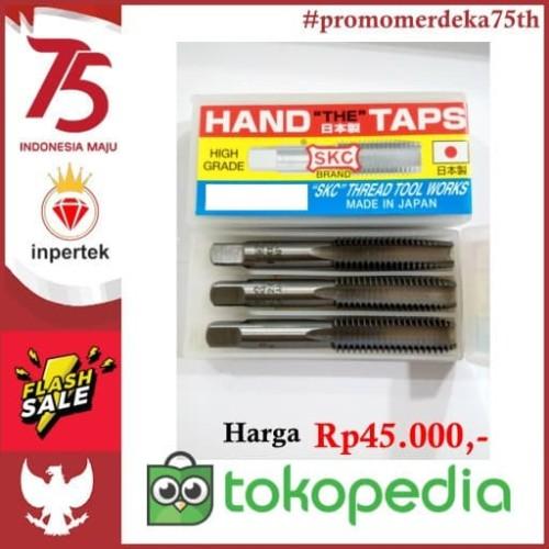 Foto Produk HAND TAP M10 TAP M10*1,25 TAP M 10 TAP M 10*1,25 HSS BKN TAP YAMAW - M10X1 dari Teknikloak