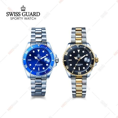 Foto Produk Swiss Guard Sporty Watch / Jam Tangan Swiss Guard - Silver dari NEOHAUS Official