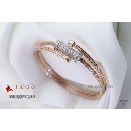 Foto Produk Gelang Emas Felicia dari Jago Jewelry Official Store