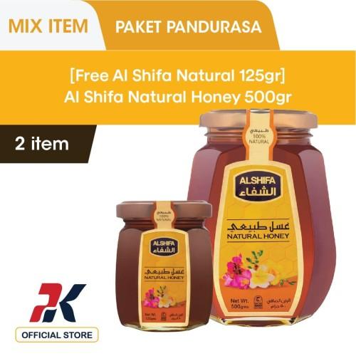 Foto Produk [GRATIS Al Shifa Natural Honey 125gr] Al Shifa Natural Honey 500 gr dari Pandurasa Official Store