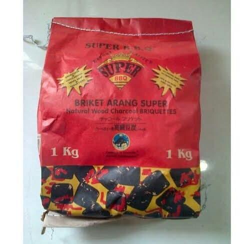 Foto Produk Arang Briket Super BBQ 1Kg dari SEMBAKO EL Barraq