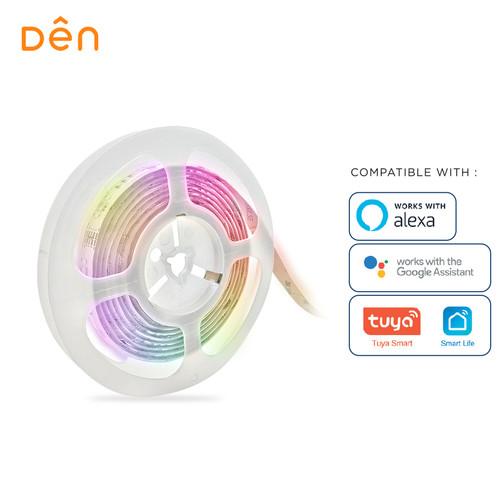 Foto Produk DEN Smart Home WiFi LED Strip 3m dari Den Smart Home