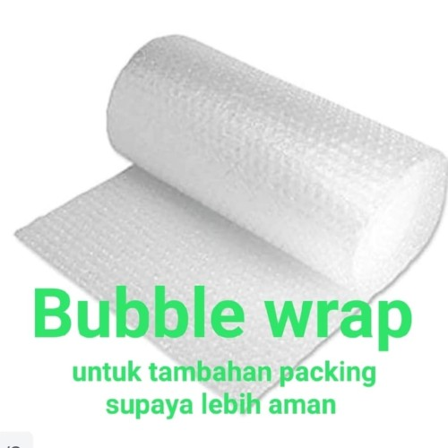 Foto Produk BUBBLE WRAP TAMBAHAN PACKING UNTUK TRANSAKSI DI BAWAH RP.100.000 dari MJKbox