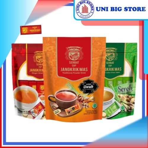 Foto Produk Serbat Jangkrik Mas Jahe Sereh Uwuh - Jahe dari Uni Big Store