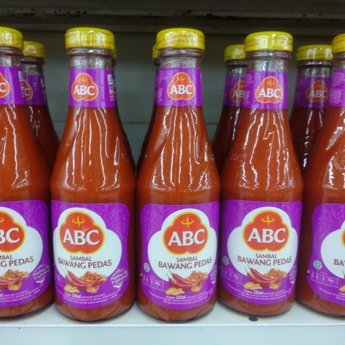 Foto Produk ABC Sambal Bawang Pedas 335ml dari cubeecubee