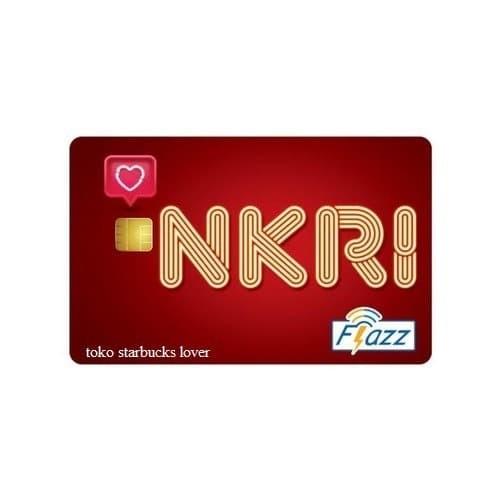 Foto Produk Kartu Flazz BCA Gen2 - NKRI HUT RI Kemerdekaan Merah Saldo 0 dari Toko Starbucks lover