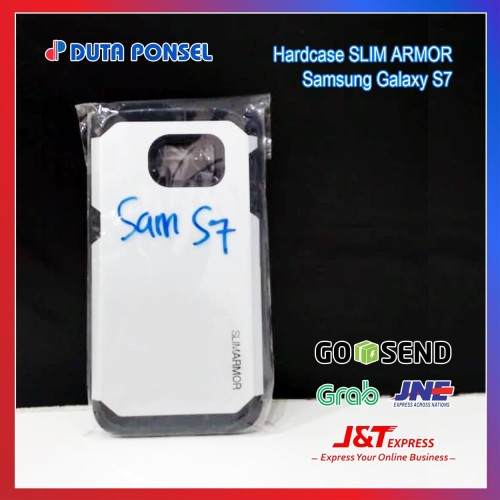 Foto Produk Spigen Slim Armor Case FOR Samsung Galaxy S7 Flat - Putih dari DutaPonsel Official