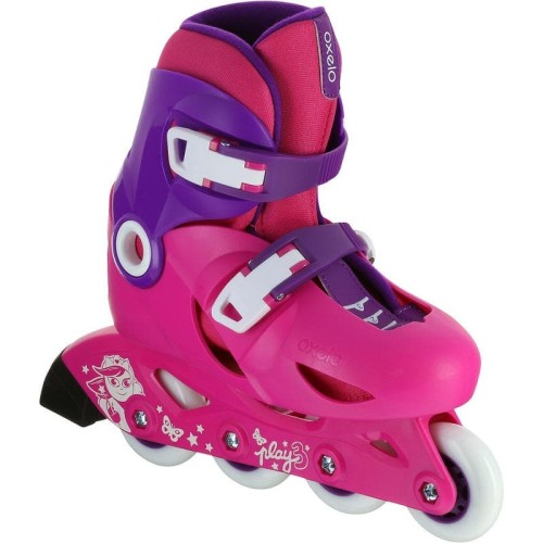 Foto Produk Oxelo Sepatu Roda Anak Pemula Play 3 Pink Decathlon - 8367591 - 34-36 dari Decathlon Indonesia