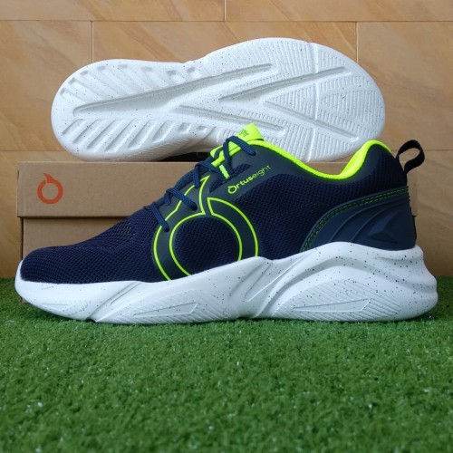Foto Produk Sepatu Sneakers Running Ortuseight Mamba - Navy/Neon Green - 38 dari KICKOFF SPORTS